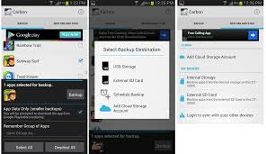 backup android apps and app data cache without root using