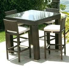 high top patio table patio high dining set beautiful high top patio