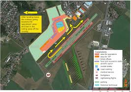 Utc Parking Map For The Participants Historical Airshow
