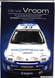 renault clio v6 rally car team clio v6 trophy magazine article mark fish motorsport