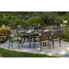 patio furniture 7 dining set better homes and gardens providence 7 patio dining set