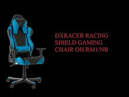dxracer chair black friday unboxing dxracer racing shield gaming chair oh rm1 nb youtube