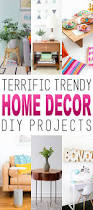 terrific trendy home decor diy projects featuring the latest