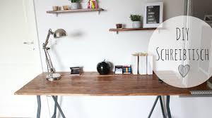 Wohnzimmertisch Diy Diy Schreibtisch Rustikal Schreibtisch Günstig Selber Bauen