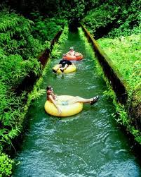 Hawaii rivers images Floating on a tube at a sugar plantation might be the sweetest jpg