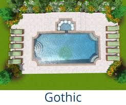 shapes of pools pool shapes carlton pools