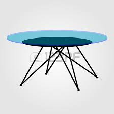 Modern Glass Coffee Tables Modern Wooden Coffee Table Elevation And 3d Royalty Free Cliparts