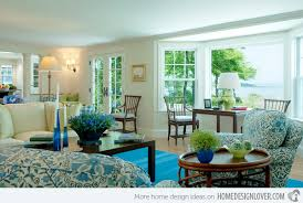 beautiful living room designs 15 lovely living room designs with blue accents home design lover