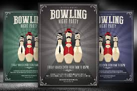 27 bowling flyer templates psd ai eps vector format download