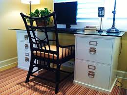 Computer Desk With Filing Cabinet by File Cabinets Home Office A Tall Filing Cabinet Darkening In