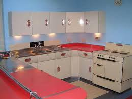 Vintage Metal Kitchen Cabinets 1950s Metal Kitchen Cabinets Monsterlune