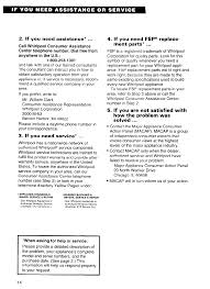 page 14 of whirlpool dehumidifier ad040 user guide manualsonline com