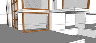 Floor Plan In Sketchup Sketchup Section Cut Or Floor Plan To Autocad