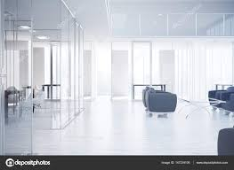 Modern Office Waiting Chairs Modern Office Interior With Workplace Waiting Area City View And