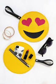 knife emoji emoji clutch diy u2013 a beautiful mess