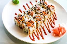 sriracha mayo sushi swanky sushi urban plains
