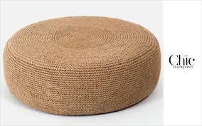 pouf bout de canapé tabourets et poufs sièges canapés decofinder