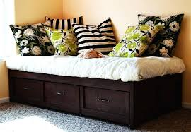 wooden daybeds with storage twin daybed with storage full size of