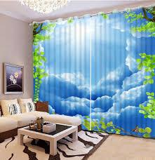 online get cheap blackout blue curtains aliexpress com alibaba