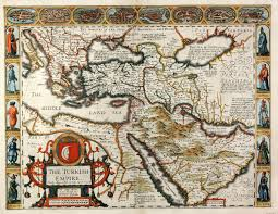 Map Of Ottoman Empire The Turkish Empire Newly Augmented By Iohn Speed Speed Turkey