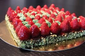 recette de cuisine de christophe michalak recette de tarte fraise pistache façon christophe michalak la