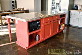 kitchen island base cabinet kitchen alluring diy kitchen island from cabinets front diy
