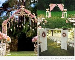 d co mariage vintage 10 décorations mariage vintage en plein air décoration mariage