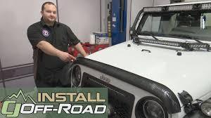 jeep cj hood jeep wrangler rugged ridge hood deflector carbon fiber look 2007