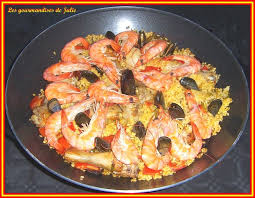 recette de cuisine en espagnol paëlla les gourmandises de julie