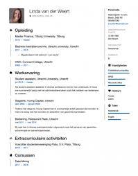 Sjabloon Cv Jobstudent studenten cv voorbeeld 2018 met tips in word pdf