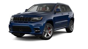 blue jeep jeep grand cherokee srt luxury performance suv