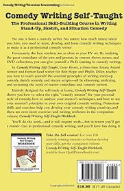 comedy writing self taught the professional skill building course