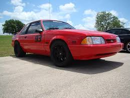 Black Fox Body Mustang Red Fox Body Coupe Mustang With Flat Black Sve Anniversary U2026 Flickr