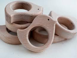 wooden bird teether unfinished shape wooden bird pendant wood