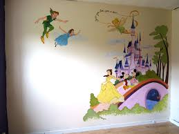 disney wall mural for a kids room amazing i would so love to disney playroom