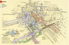 Chicago Metro Station Map by Map Of Tokyo Shinjuku Metro Station 2101 1369 Stuffetc