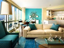 Light Turquoise Paint by Bedroom Interesting Turquoise Living Room Feature Wall Good