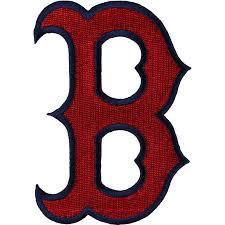 Boston Red Sox Home Decor by Boston Red Sox Secondary U0027b U0027 Logo Patch