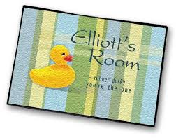 Duck Bathroom Rug Personalized Rugs For Kids By Simply Sublime
