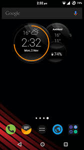 install motorola droid turbo 2 clock commandcenter