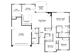 Prairie Style House Design Prairie Style House Plans Lexington 30 989 Associated Designs