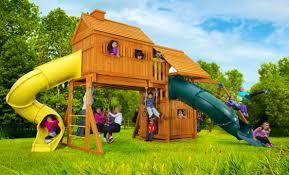swing sets u2013 fantasy tree house 6 u2013 jungle gyms canada