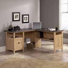 Office Desks Oak Oak L Shaped Home Office Desk