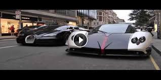bugatti vs pagani zonda vs bugatti veyron supersport