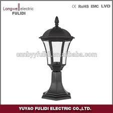 Outdoor Pillar Lights High Quality Outdoor Pillar Lights Classic Design Solar Pillar