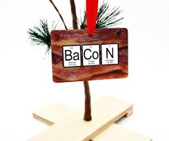 bacon periodic table ornament neurons not included