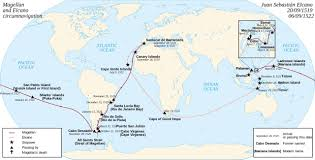 Cape Air Route Map by Punta Arenas Following The Ferdinand Magellan Route