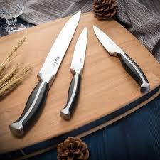 amazon com knife set bluesim 5 piece chef u0027s kitchen knife set