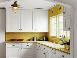 Yellow Kitchen With White Cabinets - what color cabinets go with yellow walls cabinet arina and