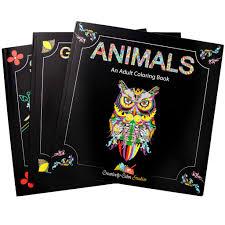 coloring books animals geometric shapes with mandala